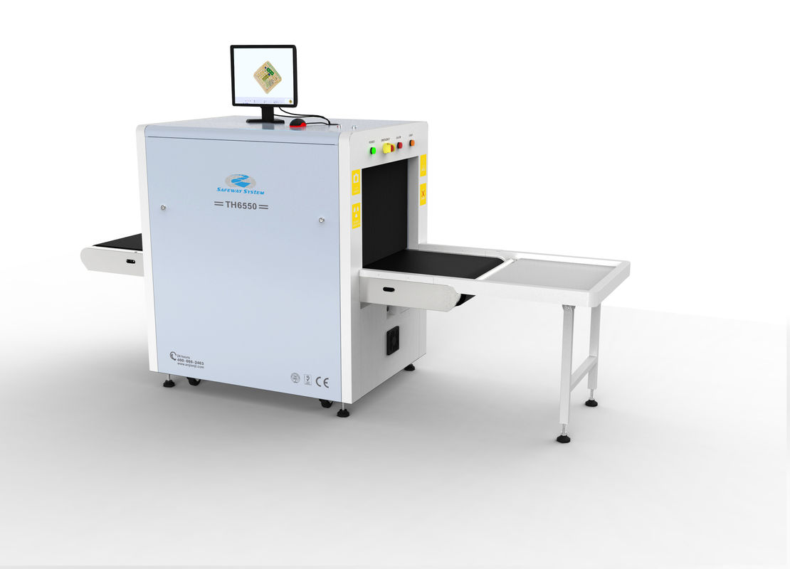 Machine du bagage X Ray de milieu du TH 6550 pour le bas rayonnement de Procuratorate/prisons